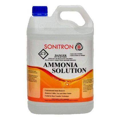 Sonitron Ammonia Solution - White bottle orange tag - Glocally Mine