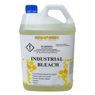 Yellow Bleach in plastic container - Sampsons chemicals - Glocally Mine