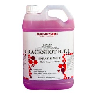 Crackshot RTU pink chemical in 5L container - Sampson chemicals - Glocally Mine