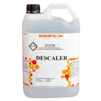 Sampson Descaler - White bottle - Glocally Mine