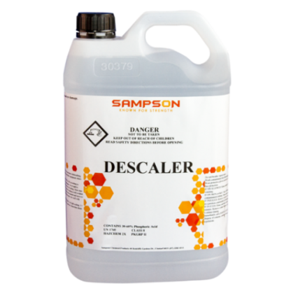 Sampson Descaler - White bottle - Glocally Mine