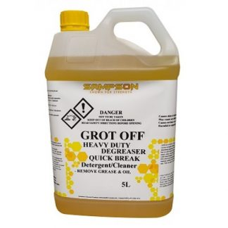 Sampson Grot Off Cleaner - Yellow Solution - Glocally Mine