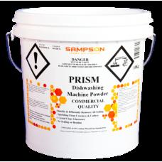 Prism Dishwashing Powder in White Pail - Sampsons Chemicals - Glocally Mine
