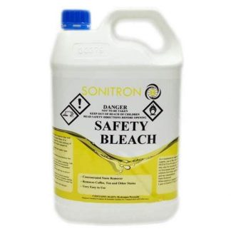 Sonitron Safety Bleach - Bottle with Yellow text - Glocally Mine