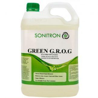 Green GROG in bottle - Sonitron Chemicals - Glocally MIne