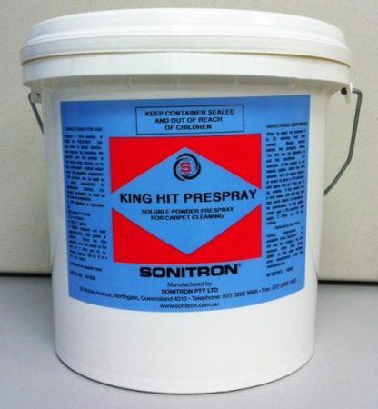 Powdered Pre spray in white pail - Sonitron - Glocally Mine