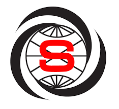 Sonitron logo image - Red S in black web