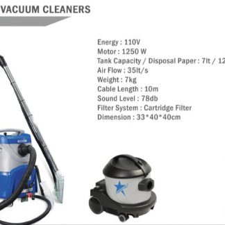 Airplane vacuum cleaners