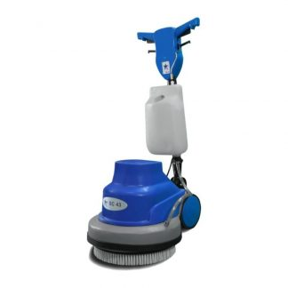 Floor scrubbing polishing machine